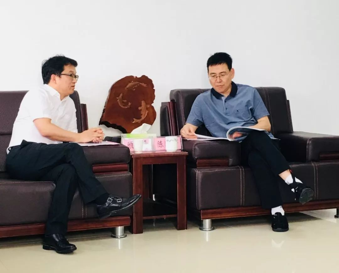 随州市委书记陈瑞峰接见中车交通董事长顾一峰一行
