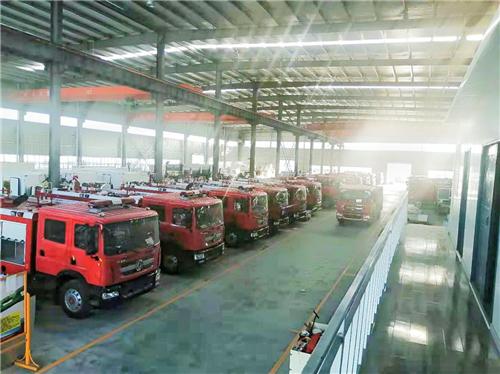一批国六消防车顺利完成多项性能测试
