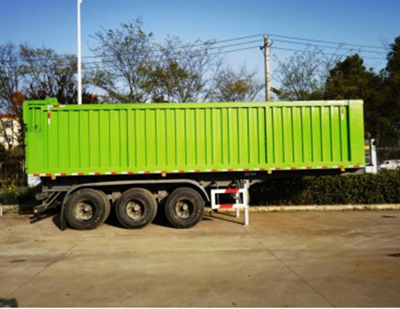 nba买球用什么软件牌CSC9400ZLJ型垃圾转运半挂车