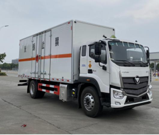 亚博体育网页版牌CSC5180XRQB6欧航易燃气体厢式运输车