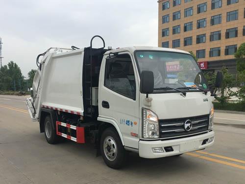 楚胜牌CSC5041ZYSKM型压缩式垃圾车