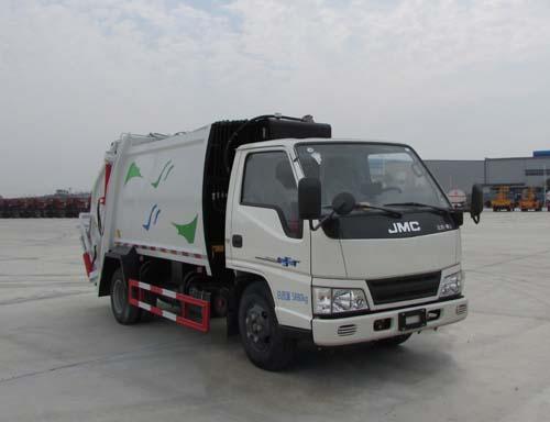 楚胜牌CSC5061ZYSJ5型压缩式垃圾车