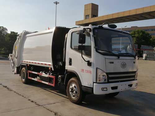 楚胜牌CSC5077ZYSCA5型压缩式垃圾车