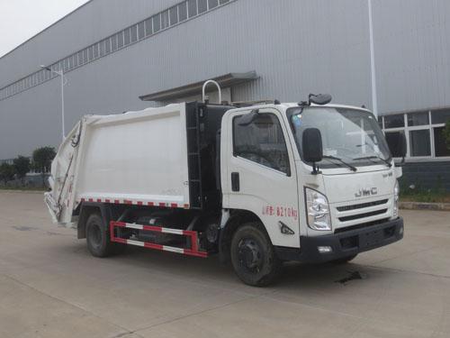 楚胜牌CSC5083ZYSJ5型压缩式垃圾车