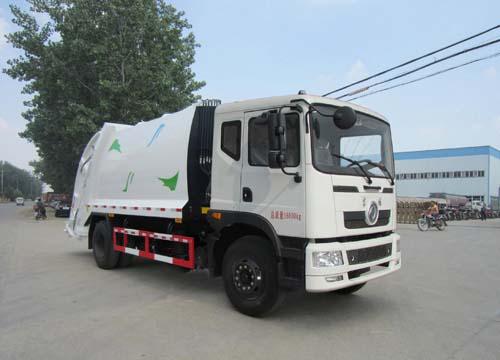 楚胜牌CSC5160ZYSEX5型压缩式垃圾车