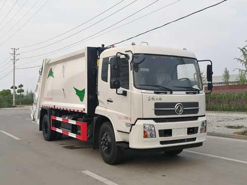 楚胜牌CSC5161ZYSDV型压缩式垃圾车