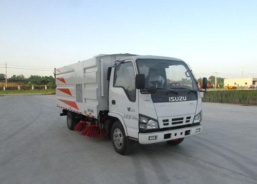 楚胜牌CSC5073TSLWV型扫路车
