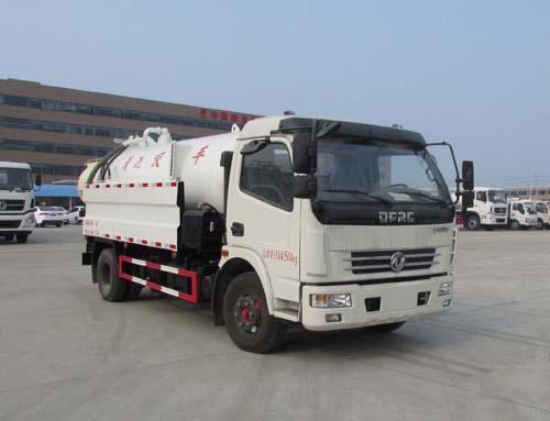 楚胜牌CSC5112GQW5型清洗吸污车