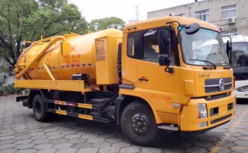 亚博体育网页版牌CSC5181GXWD型吸污车