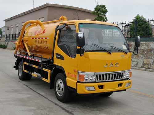 亚博体育网页版牌CSC5070GXWJHV型吸污车