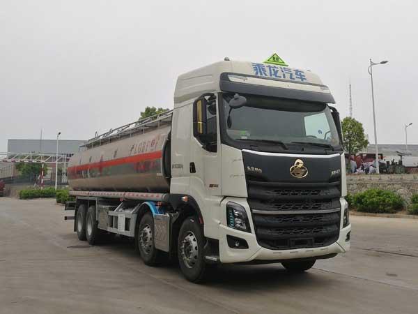 亚博体育网页版牌CSC5320GYYLEL6型铝合金运油车