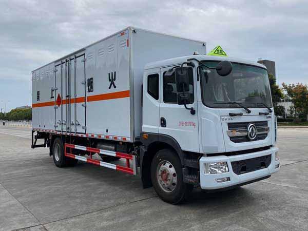 亚博体育网页版牌CSC5185XRQ6型易燃气体厢式运输车