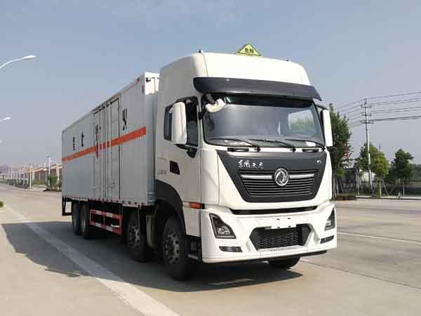 亚博体育网页版牌CSC5320XRQD6型易燃气体厢式运输车