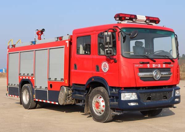 楚胜牌CSC5150GXFSG50/E6型水罐消防车