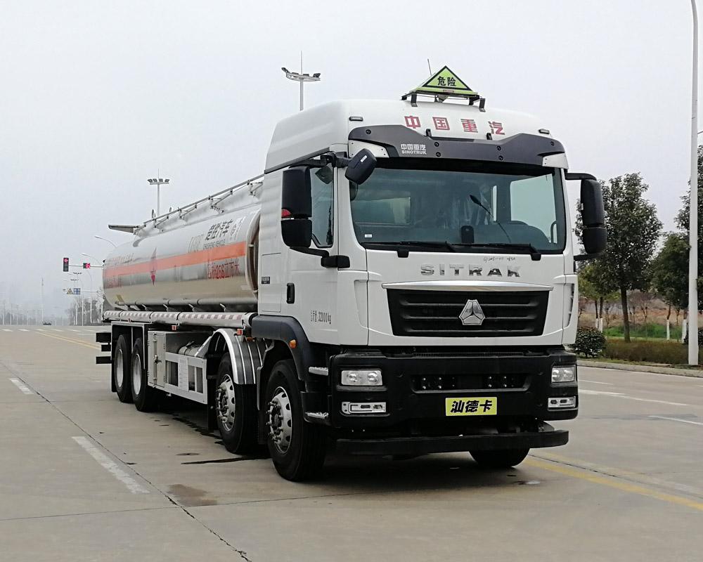 long8手机pt客户端牌CSC5326GYYLZK6A型铝合金运油车