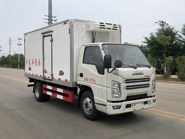 楚胜牌CSC5040XLCJ6型冷藏车