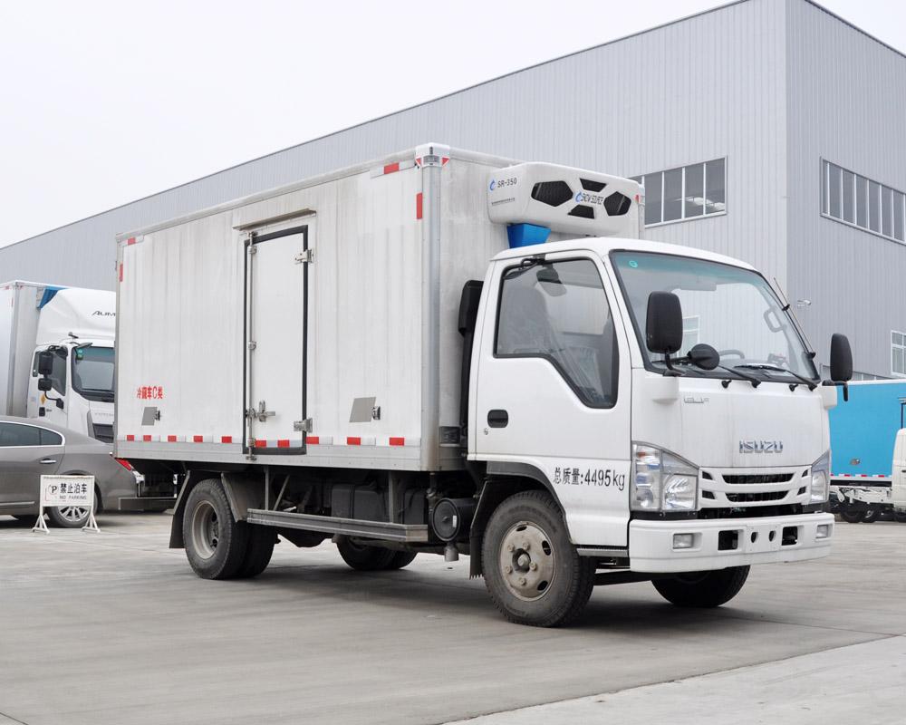 楚胜牌CSC5040XLCW6型冷藏车