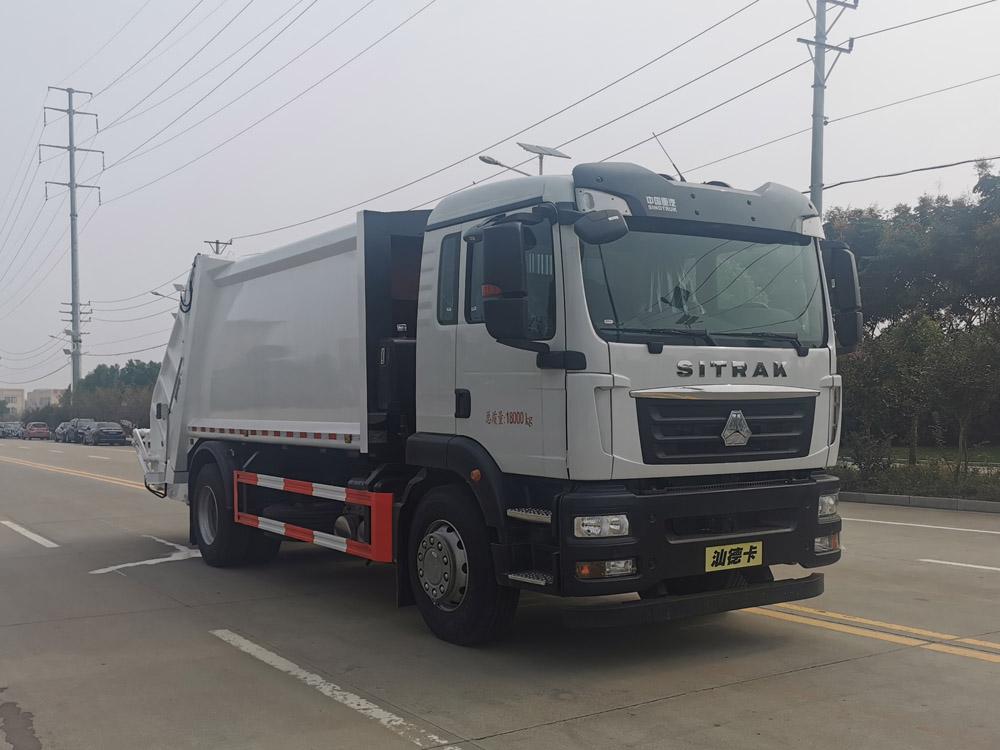 楚胜牌CSC5186ZYSZ6型压缩式垃圾车
