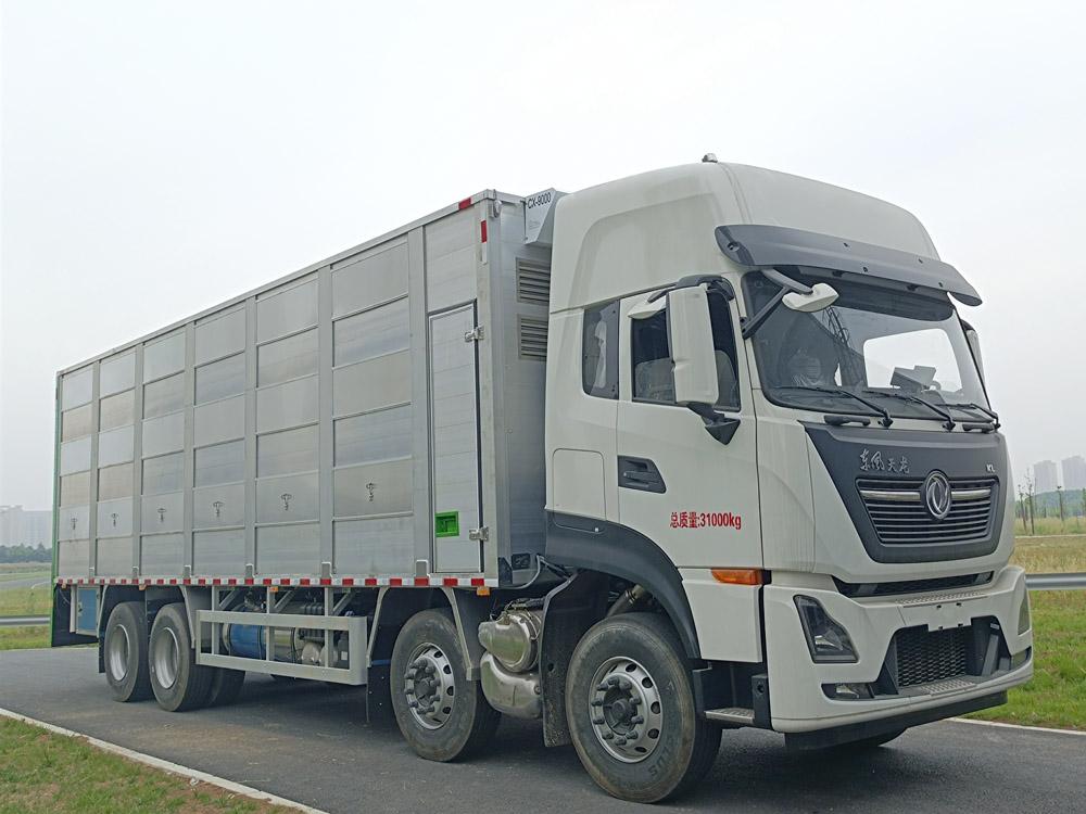 楚胜牌CSC5311CCQD6型畜禽运输车