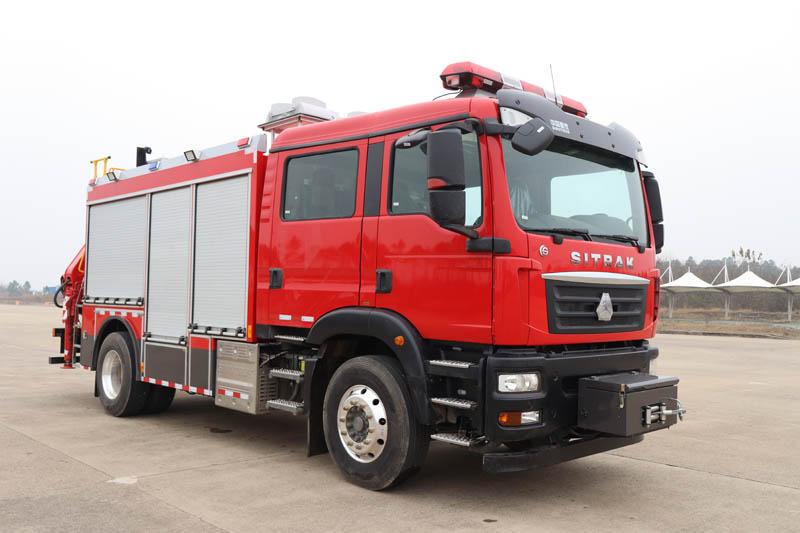long8手机pt客户端牌CSC5140TXFJY90/S6型抢险救援消防车