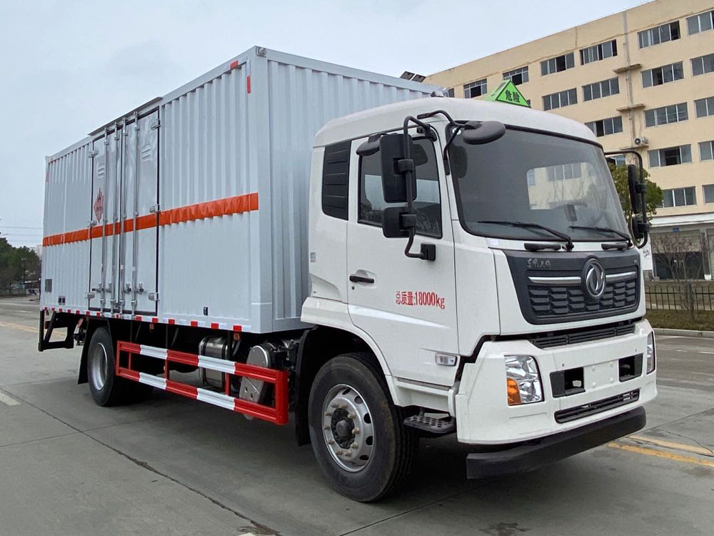 楚胜牌CSC5181XRGD6型易燃固体厢式运输车